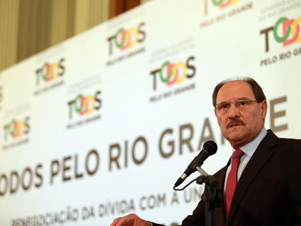 Governador José Ivo Sartori (Foto: Karine Viana/Palácio Piratini)