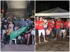 Atos pró e contra saída de Dilma em Teresina acompanham votação