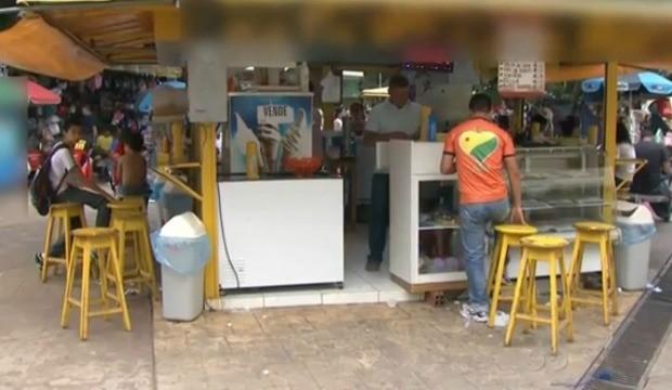 A reportagem foi às ruas analisar a alimentação de quem come fora de casa.  (Foto: Acre TV)