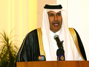 Hamad bin Jassim bin Jabr Al-Thani, primeiro-ministro do Qatar (Foto: AFP)