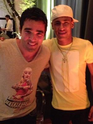 Neymar e Deco (Foto: Reprodução  / Instagram)