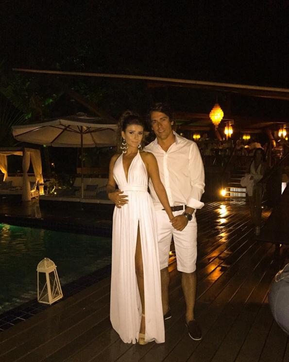 Paula Fernandes e o namorado (Foto: Instagram / Reprodução)