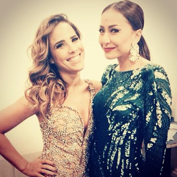 Wanessa e Sabrina Sato em prêmio em São Paulo (Foto: Instagram/ Reprodução)