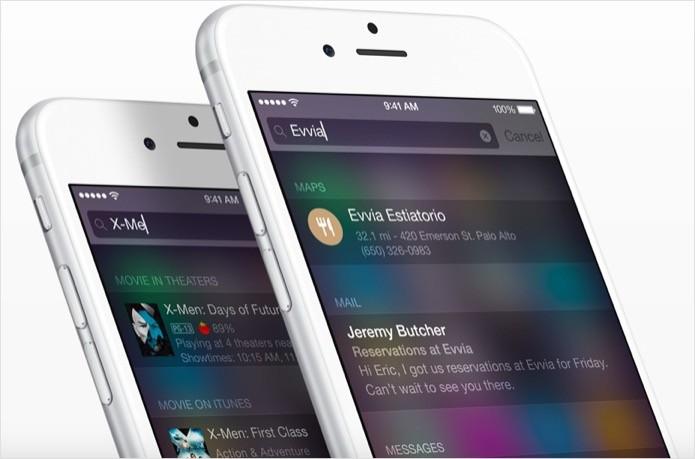 Aprenda a usar o Spotlight para realizar buscas no iOS (Foto: Reprodução/Apple)