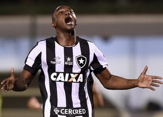 sassá gol botafogo inter (Foto: André Durão / GloboEsporte.com)