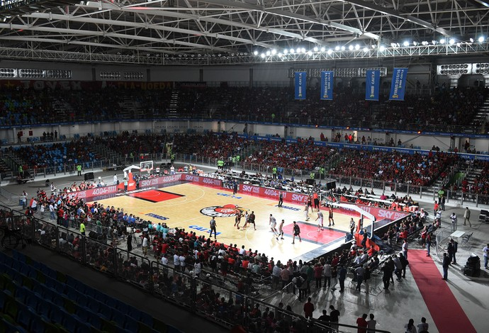 Flamengo x Bauru final do NBB jogo 2 basquete Arena Carioca 2 (Foto: André Durão)