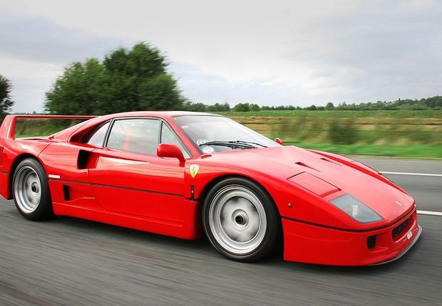 Ferrari F40 (Foto: Wikimedia Commons/Wikipedia)