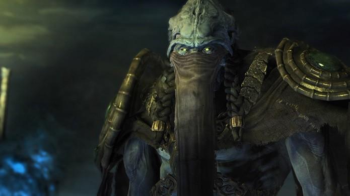 Na versão beta de Starcraft 2: Legacy of The Void o jogador poderá enfrentar três missões protagonizadas por Zeratul (Foto: Divulgação/Blizzard)