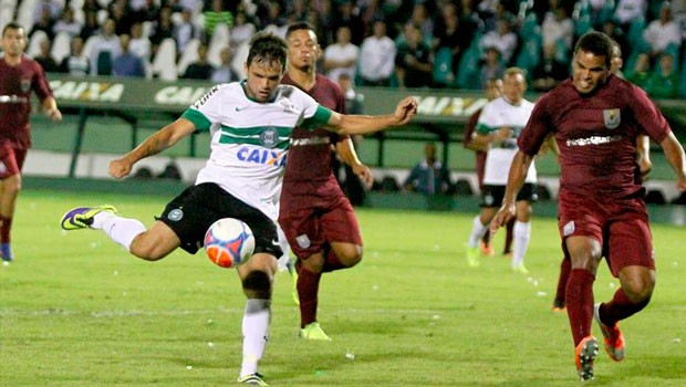 Acompanhe, ao vivo, a partida entre JMalucelli X Coritiba, a partir das 16h, na tela da RPC (Foto: Divulgação/ Site do Coritiba)