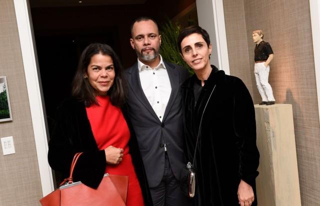 Daniela Falcão, Ricardo Cruz e Lilian Pacce (Foto: Lu Prezia)