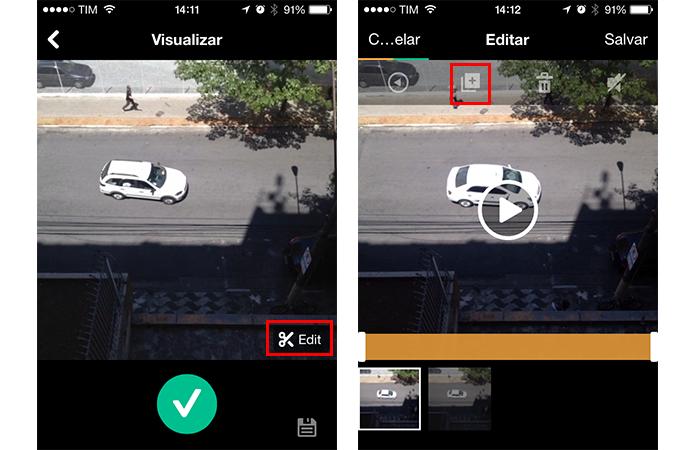 Duplicando um clipe de vídeo (Foto: Reprodução/André Sugai)