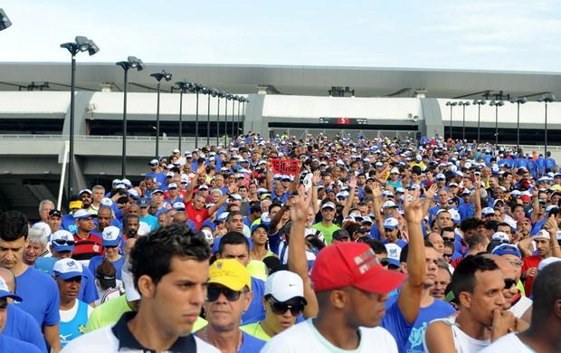 corrida das torcidas maracanã eu atleta (Foto: André Durão)