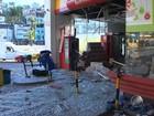 Grupo explode caixa em loja dentro de posto e assalta funcionários na BA