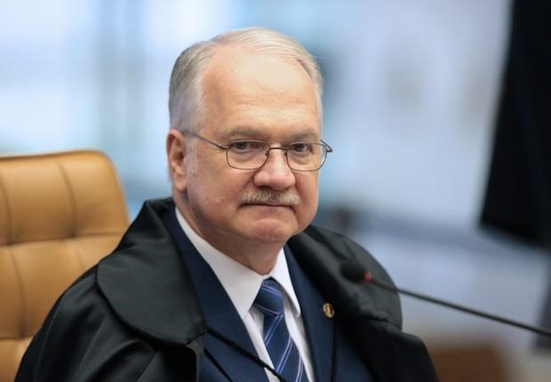 O ministro do STF Luiz Edson Fachin (Foto: Carlos Moura/SCO/STF)