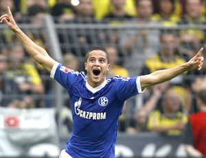 Afellay, Borussia e Schalke 04 (Foto: Agência Reuters)