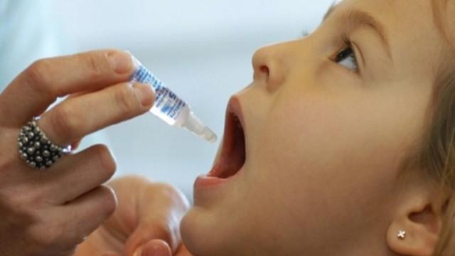 Campanha de vacinação contra a Poliomelite (Foto: Divulgação)