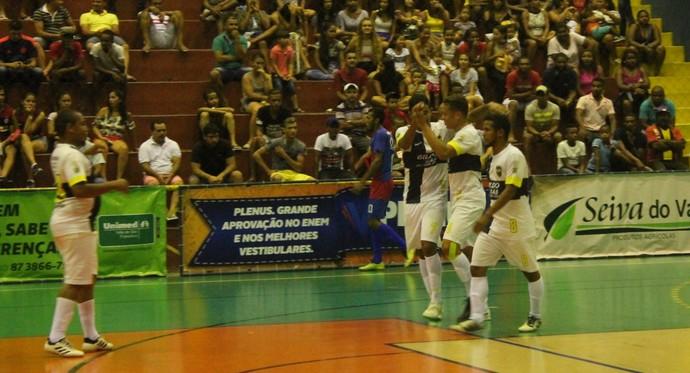 Seleção Boavistana vence e garante classificação para 2ª fase da Copa TV Grande Rio de Futsal (Foto: Amanda Lima)