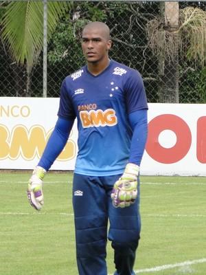 Elisson, goleiro do Cruzeiro (Foto: Gabriel Duarte)
