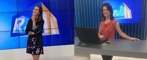 Jornalistas da Inter TV revelam os cuidados na escolha dos looks (Vitor Pires/ Gshow)