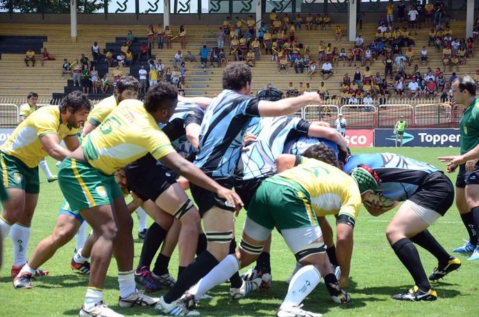 Rugby Brasil x Uruguai (Foto: Reprodução / Facebook)