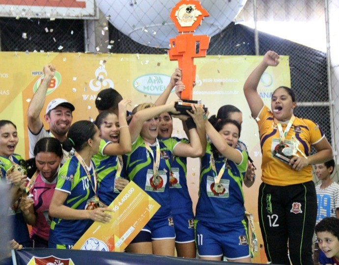 Foi a primeira vez que o Atlético venceu a Copa TV Amazonas (Foto: Isabella Pina/ Globoesporte.com)
