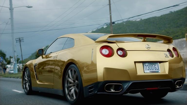 O Nissan GT-R de Bolt (Foto: Divulgação)