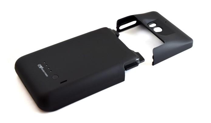 Case com bateria promete carga de sobra para dois dias de uso (Foto: Divulgação)