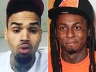 Chris Brown e Lil Waine são alvos de investigação por tráfico de drogas