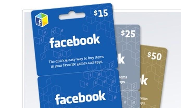 Vale Presente do Facebook dá crédito para jogos (Foto: Divulgação)