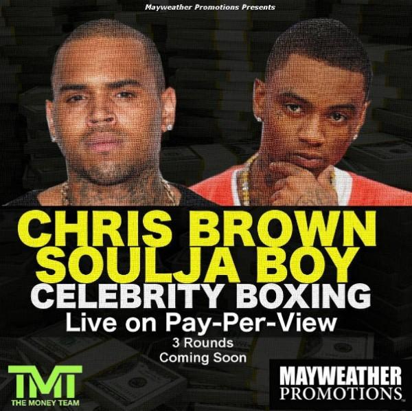 Chris Brown x Soulja Boy  (Foto: Reprodução Instagram)