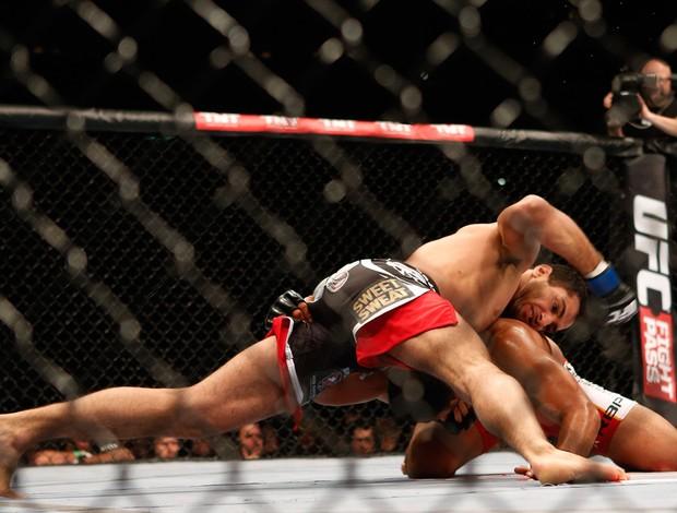 Munhoz x Mousasi UFC (Foto: AFP)