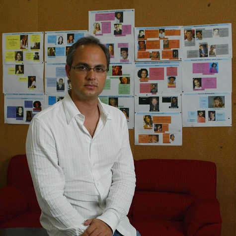 Alexandre Avancini: diretor de Pecado mortal (Foto: Carlos Ivan)