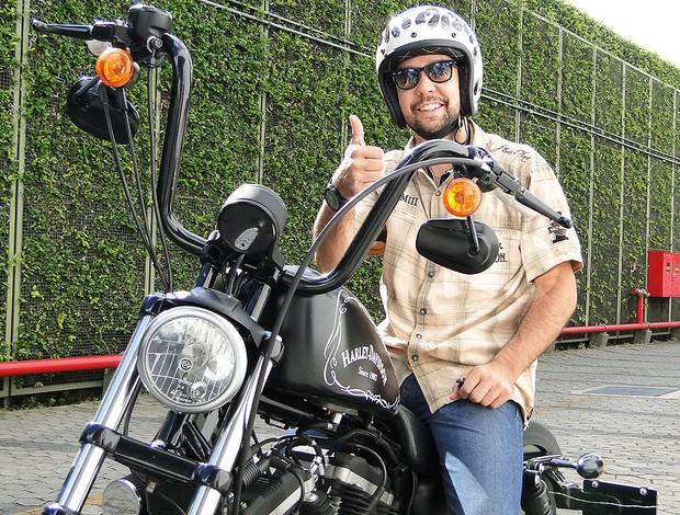 willian - jogador de vôlei do Cruzeiro (Foto: Tarcísio Badaró / Globoesporte.com)