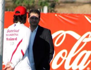 Fernandão e Luciano Davi (Foto: Diego Guichard / GLOBOESPORTE.COM)