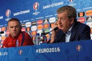 Rooney Roy Hodgson Inglaterra Eurocopa (Foto: Reuters)