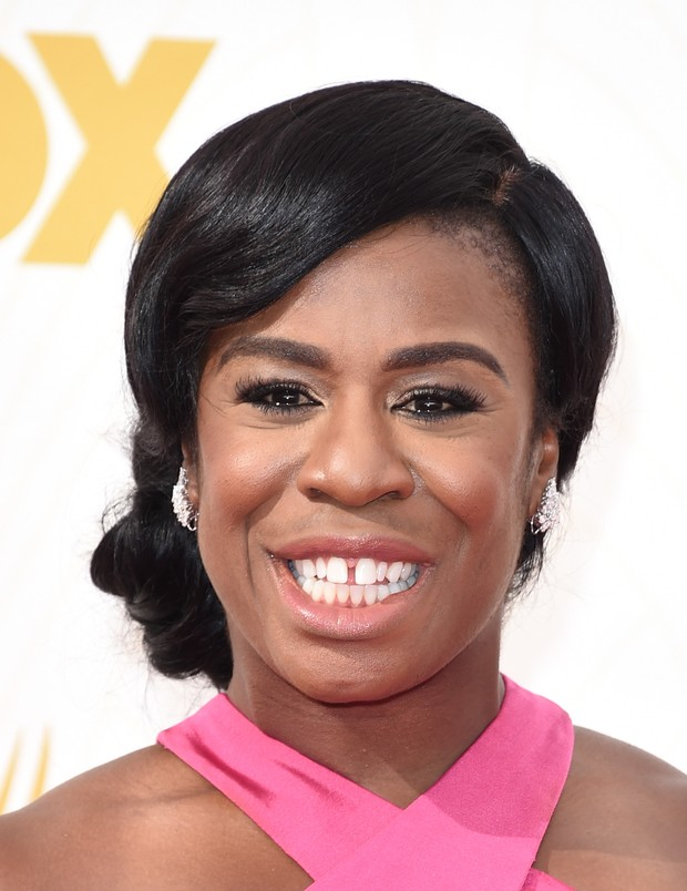 MAKE EMMY 2015 - Uzo Aduba (Foto: AFP)