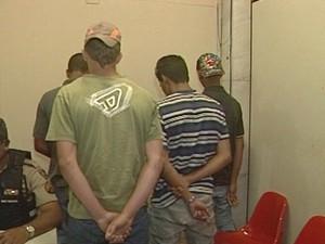 apreensão ituiuitaba menores escola  (Foto: Reprodução/ TV Integração)