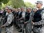 Força Nacional chega ao CE para combater motins (Reprodução/TV Clube)