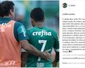 """Dudu explica polêmica após conversa com Cuca: """"Mal-entendido"""""""