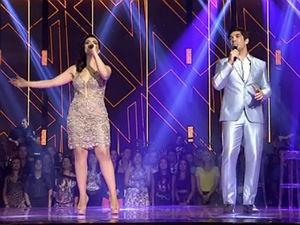 'Kiko e Jeanne foram os melhores', segundo Lulu Santos (Foto: Reprodução/ Rede Globo)