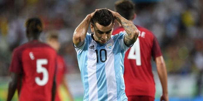 Ángel Correa Portugal x Argentina (Foto: Getty Images)