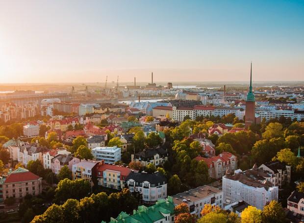 Finlândia (Foto: Reprodução/Condé Nast Traveller)
