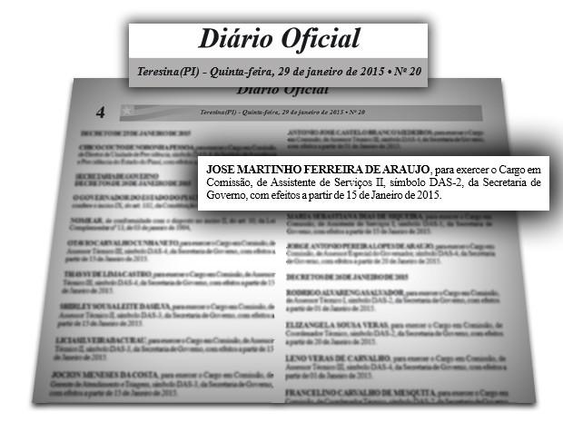 Diario Oficial - 300114 (Foto: Divulgação)