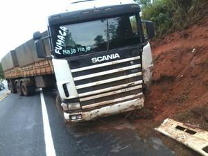 Acidente ocorreu em Conceição do Pará (Foto: Polícia Militar Rodoviária/Divulgação)