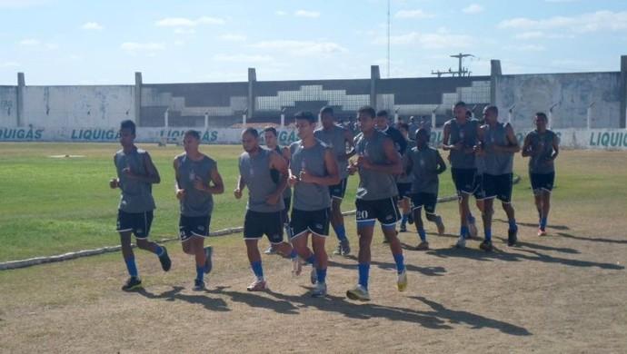Corintians-RN - jogadores - Márcio Costa, zagueiro  -Estádio Marizão, em Caicó (Foto: Divulgação/Corintians-RN)