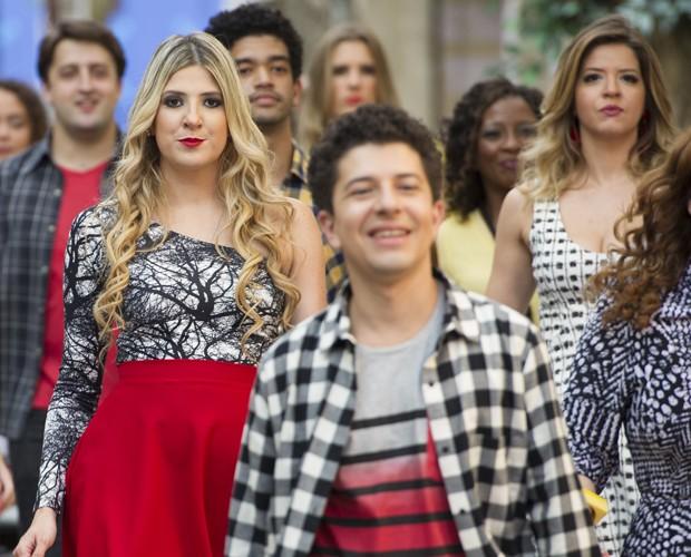 Estilo com cores, mas sem muito brilho marca o novo Zorra (Foto: João Cotta / TV Globo)