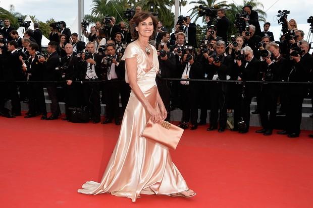 Inés em Cannes em 2015 (Foto: Getty Images)