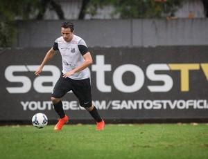 Leandro Damião atacante Santos treino (Foto: Ricardo Saibun / Divulgação Santos FC)