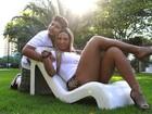 Valesca Popozuda posa com o filho  e garante: 'Tenho lado maternal'