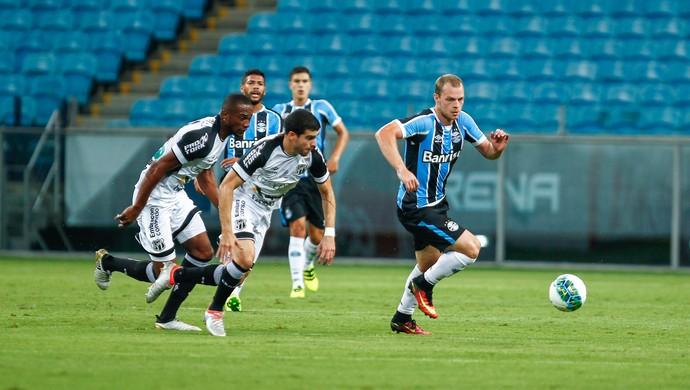Grêmio x Ceará Primeira Liga Arena Lucas Coelho (Foto: Lucas Uebel / Grêmio / Divulgação)